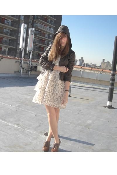 dress - jacket - shoes
