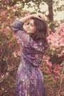 Light-purple-vintage-dress