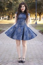 navy Chi Chi London dress