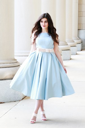 light blue Chi Chi clothing dress