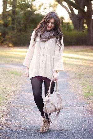 heather gray Scarves Dot Net scarf