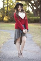 brick red knit Forever 21 sweater