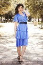 Sky-blue-vintage-dress