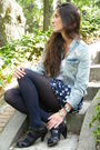 Blue-blanco-shorts-brown-zara-shoes-blue-h-m-jacket-brown-day-a-day-purse