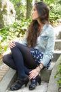 Blue-blanco-shorts-brown-zara-shoes-blue-h-m-jacket-brown-day-a-day-purse