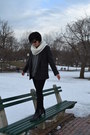 J-crew-sweater-j-crew-blazer-uniqlo-tights-michael-kors-scarf-ray-bans-g