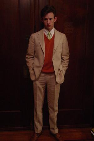 Brooks Brothers Boys Department suit - Brooks Brothers 346 sweater - Robert Talb