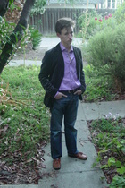 Ralph Lauren Purple Label shirt - United Colours of Benetton jacket - H&M jeans