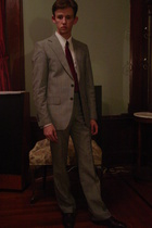 Zara suit - Rogers Peet & Co tie - Kenneth Gordon shirt