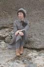 Bronze-brogue-h-m-boots-heather-gray-my-mums-dress