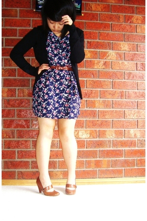 Barkins shoes - from Savers dress - - from Savers belt