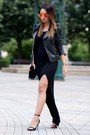 Black-love-dress-black-zara-jacket-black-mango-bag