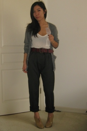 American Apparel - Alexander Wang - thrifted - vintage belt - Chloe