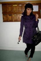 Mango jacket - madameflamingo shoes - Miss Sixty jeans - H&M hat