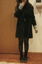 H&M belt - H&M scarf - Bata boots - Mango dress