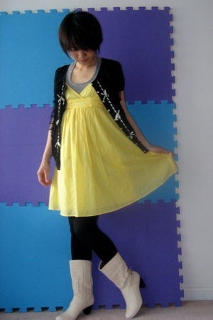 Zara dress - Indie blazer - TNA top