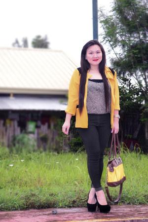 IMf blazer - SM blouse - IMf pants