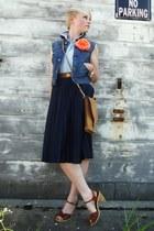 vintage Nine West sandals - vintage Wrangler sunglasses - denim Diesel vest