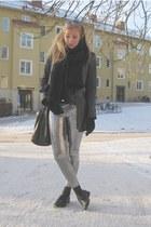 pants - shoes - jacket
