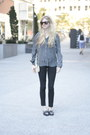 Black-denim-j-brand-pants-charcoal-gray-silk-aritzia-shirt