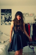 new look skirt - H&M top