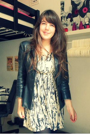 Forever 21 dress - leather Secondhand jacket