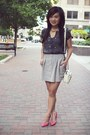 Ivory-forever-21-purse-hot-pink-leather-court-zara-heels