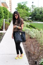 Aldo shoes - Michael Kors bag - Juicy Couture sunglasses - cotton Mango top