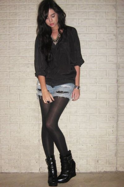 Download image Shorts With Leggings And Boots PC, Android, iPhone and ...