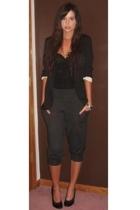 Target blazer - H&M dress - forever 21 pants - Nine West shoes - Target bracelet