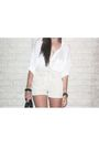 White-free-people-shirt-beige-h-m-garden-collection-shorts-black-zara-purse-
