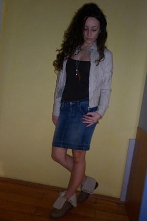 Bershka t-shirt - Bershka skirt