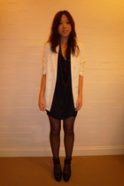 Sportsgirl blazer - Sportsgirl dress - from japan necklace - Wanted shoes