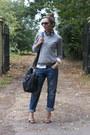 Crop-true-religion-jeans-batman-collar-celebrity-outfitter-shirt
