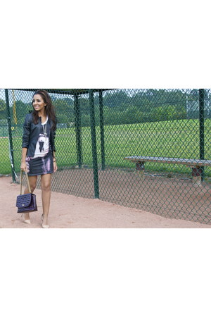 tee beatrice boyle dress - quilted jaeger bag