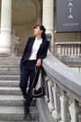 Zara-blazer-mango-bag-forever-21-blouse