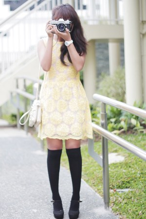 sunflower tideshe dress - mary janes Lovelywholesale heels
