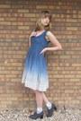Navy-thrifted-dress-gray-dsw-heels