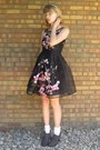Black-unknown-dress-charcoal-gray-dsw-heels