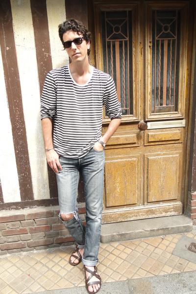 Levis jeans - Kurt Geiger shoes - Cheap Monday top