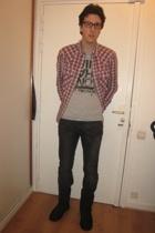 Zara jeans - Ugg boots - Levis shirt - Zara t-shirt