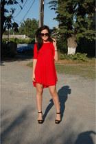 made by me dress - Zara heels