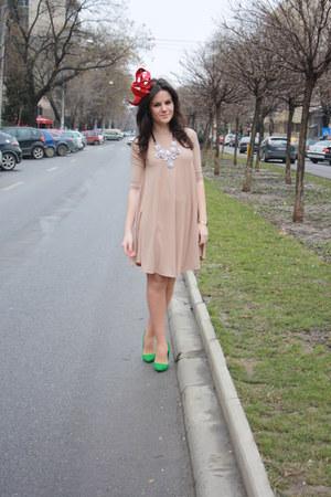 theITemco dress - fandacsia hat - Zara pumps