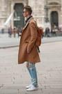Camel-tailor4less-coat-blue-ripped-jeans-blue-denim-pull-bear-jacket
