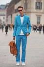 Tawny-benzolbag-bag-blue-vintage-suit