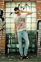 Topman jeans - H&M t-shirt