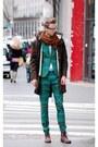 Chartreuse-h-m-suit-green-h-m-tie