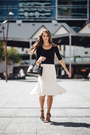 Black-saffiano-tote-prada-bag-white-country-road-skirt-black-asos-top