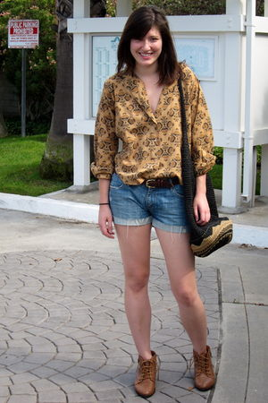 Urban Outfitters bag - Urban Outfitters shoes - vintage from Ebay shirt - Foreve