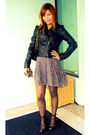 Black-forever21-shoes-heritage-dress-black-h-m-jacket-black-ebag-purse